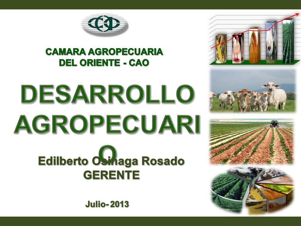 CAMARA AGROPECUARIA DEL ORIENTE - CAO