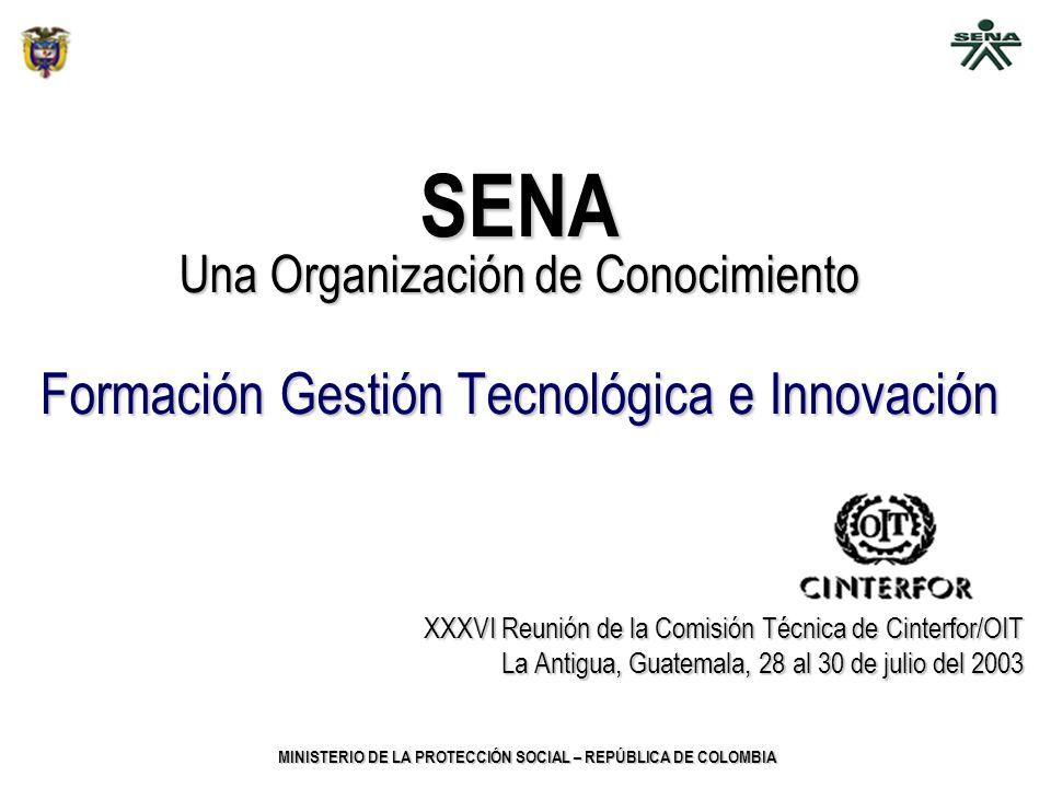 SENA Formación Gestión Tecnológica e Innovación