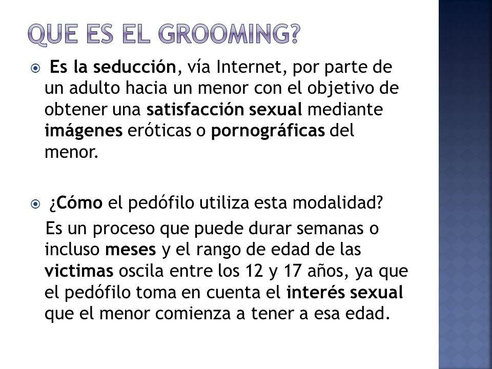 QUE ES EL GROOMING