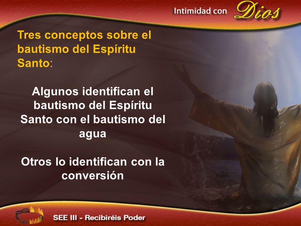 Otros lo identifican con la conversión