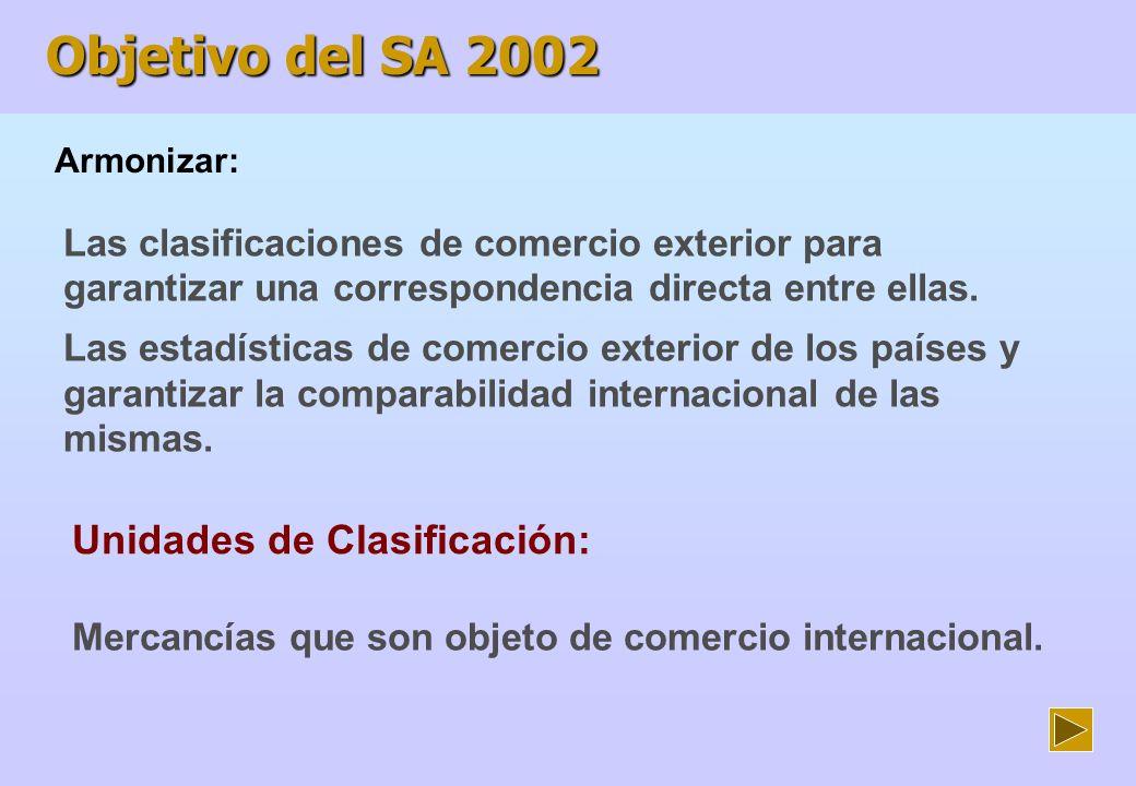 Unidades de Clasificación: