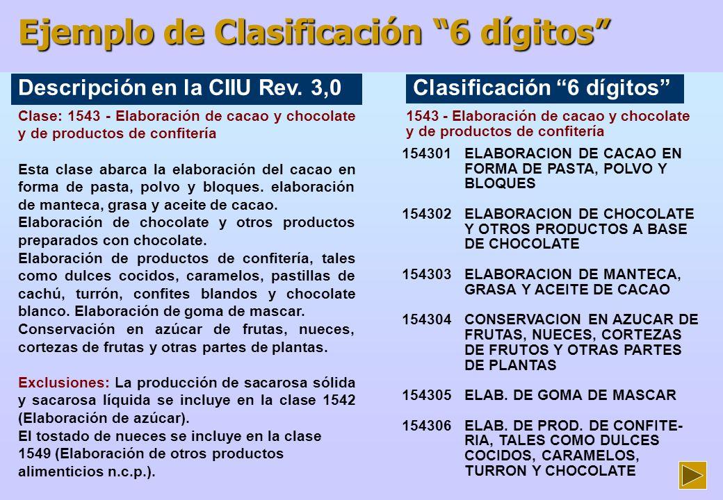Ejemplo de Clasificación 6 dígitos