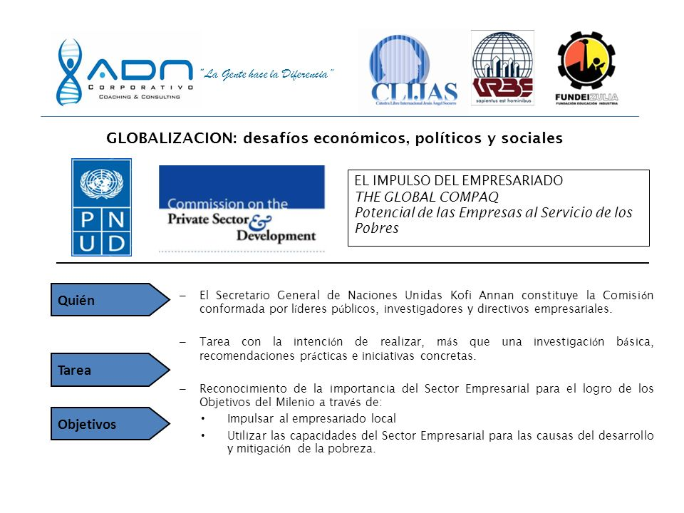 GLOBALIZACION: desafíos económicos, políticos y sociales