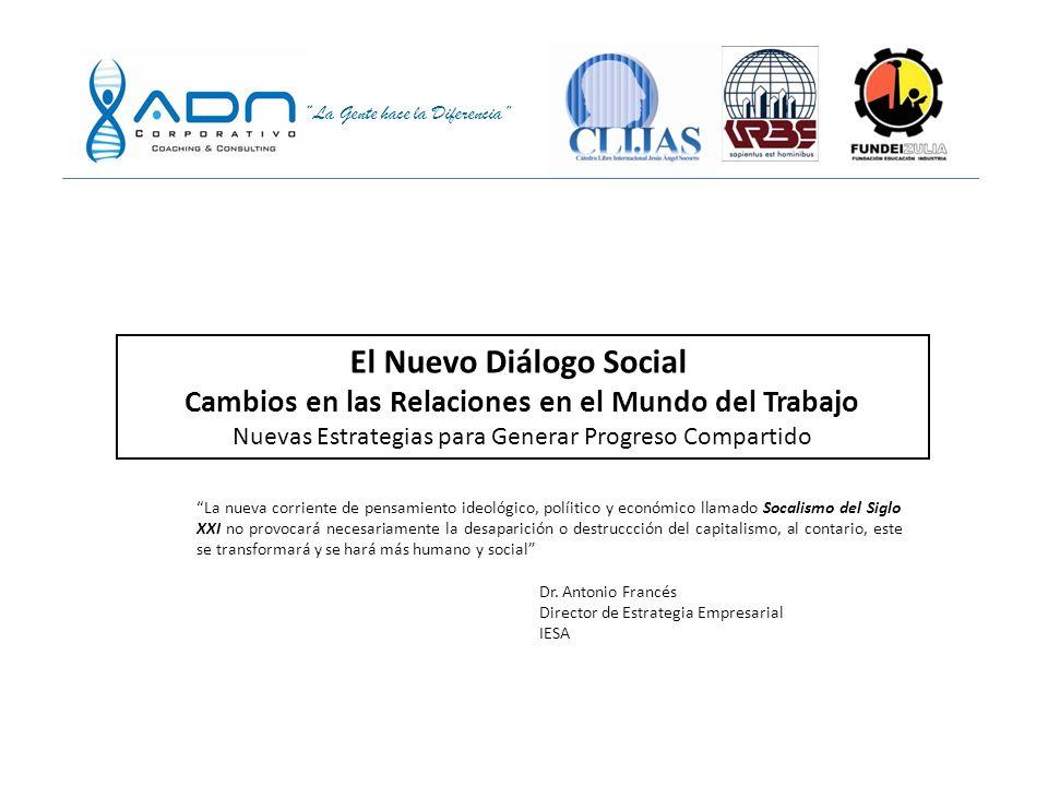 El Nuevo Diálogo Social