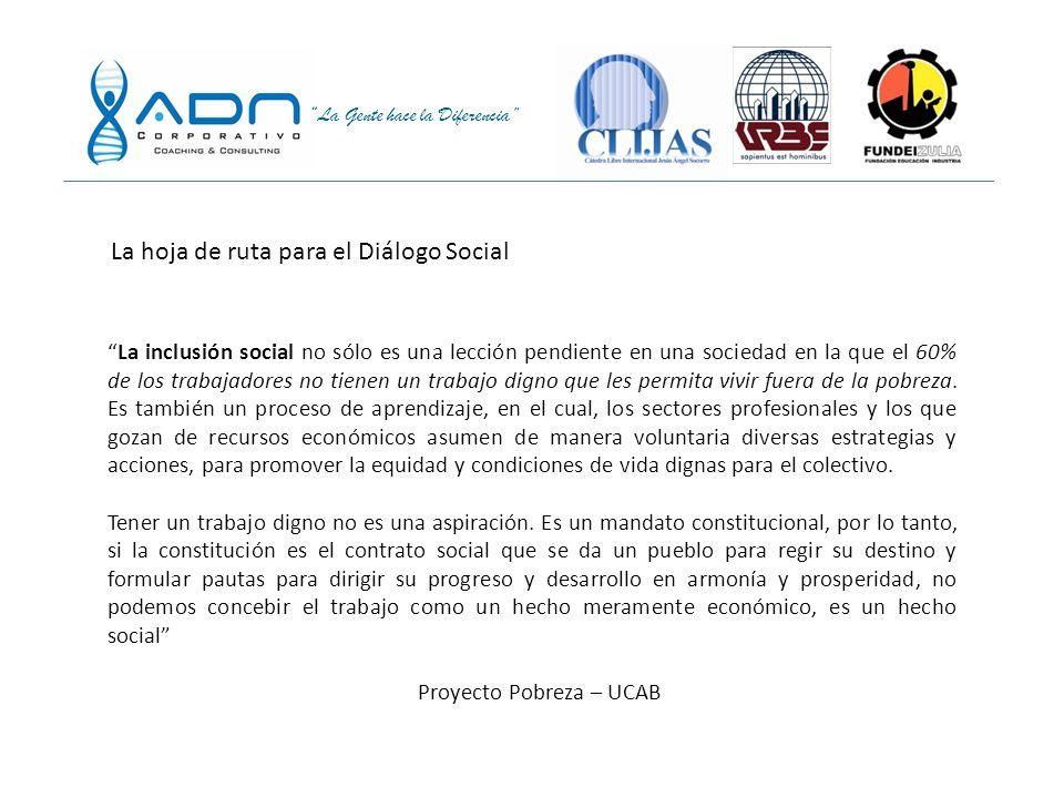 La hoja de ruta para el Diálogo Social