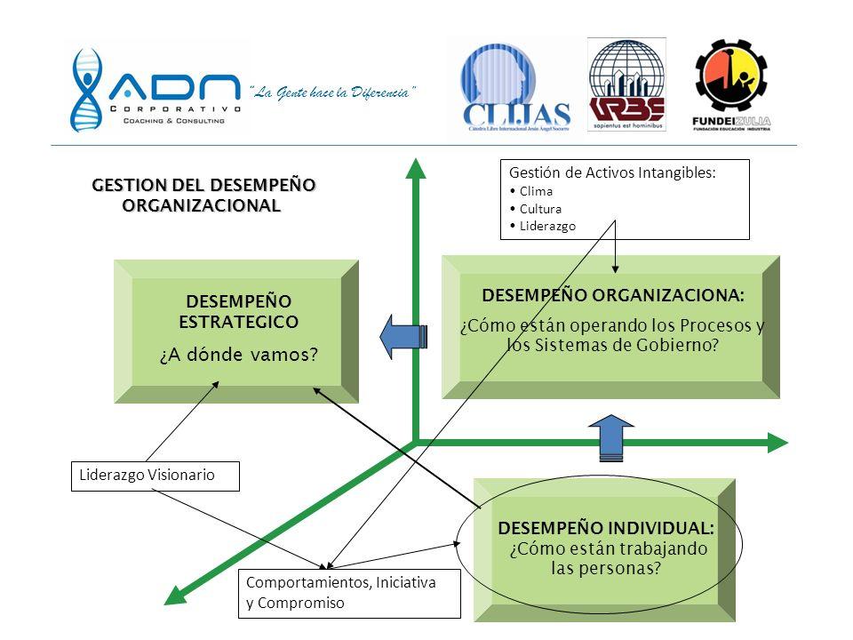 GESTION DEL DESEMPEÑO ORGANIZACIONAL