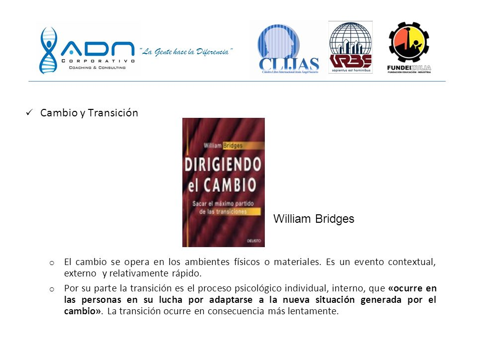 Cambio y Transición William Bridges