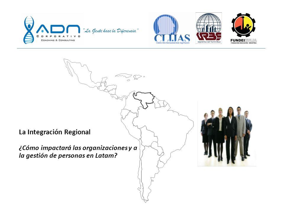 La Integración Regional