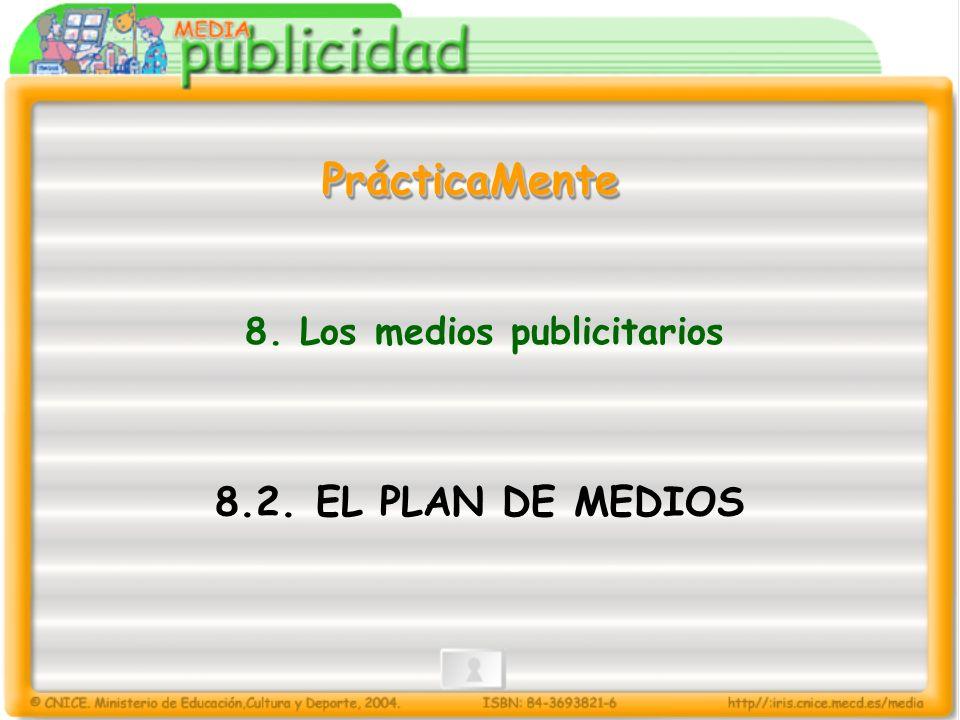 8. Los medios publicitarios
