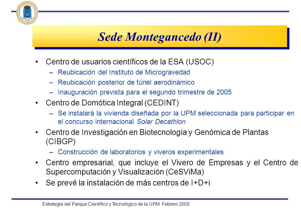 Sede Montegancedo (II)