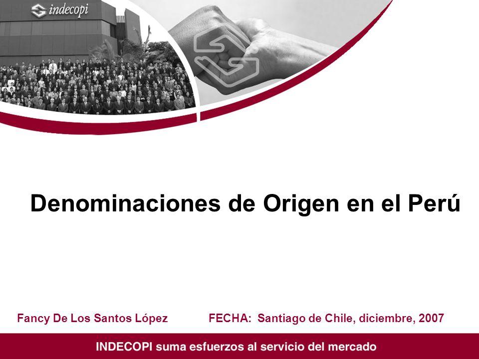 Denominaciones de Origen en el Perú