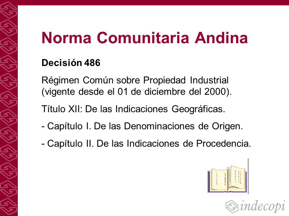 Norma Comunitaria Andina