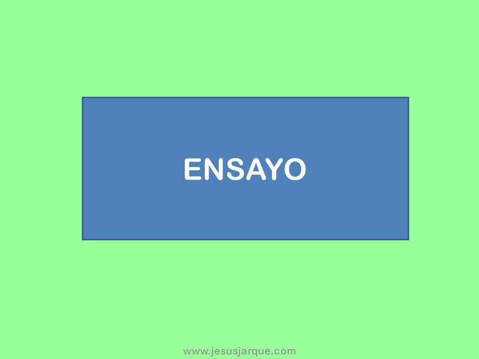 ENSAYO www.jesusjarque.com