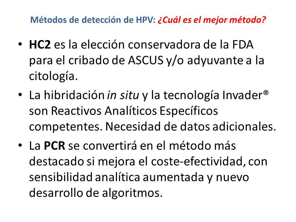 Métodos de detección de HPV: ¿Cuál es el mejor método