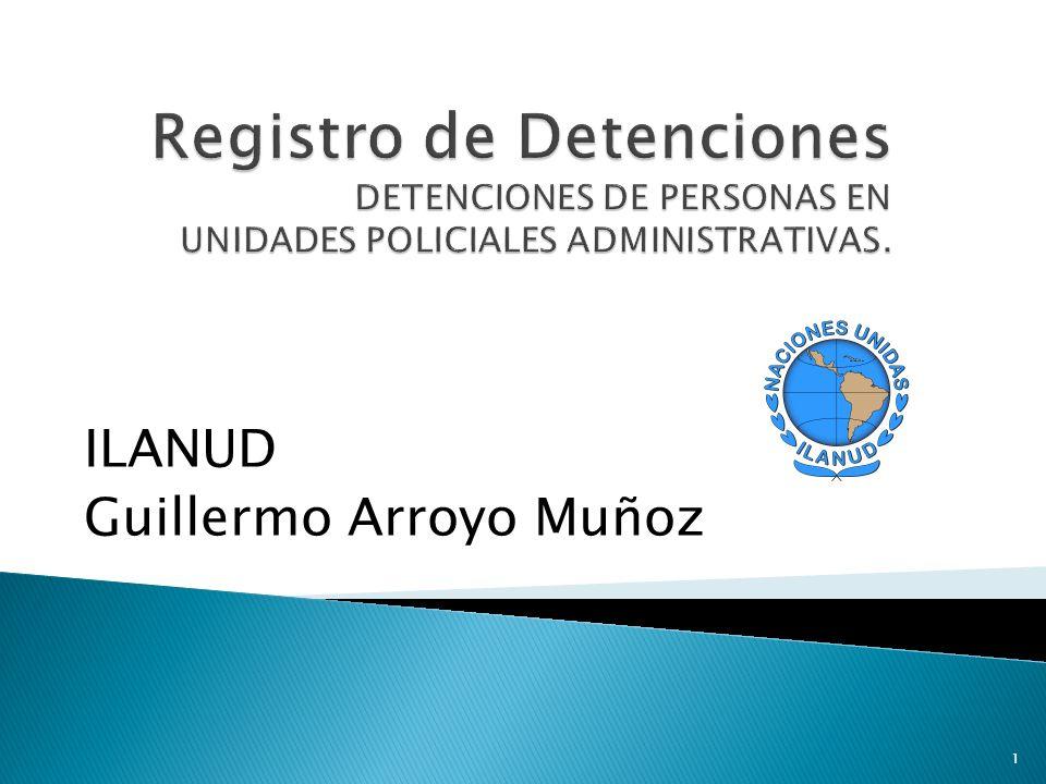 ILANUD Guillermo Arroyo Muñoz