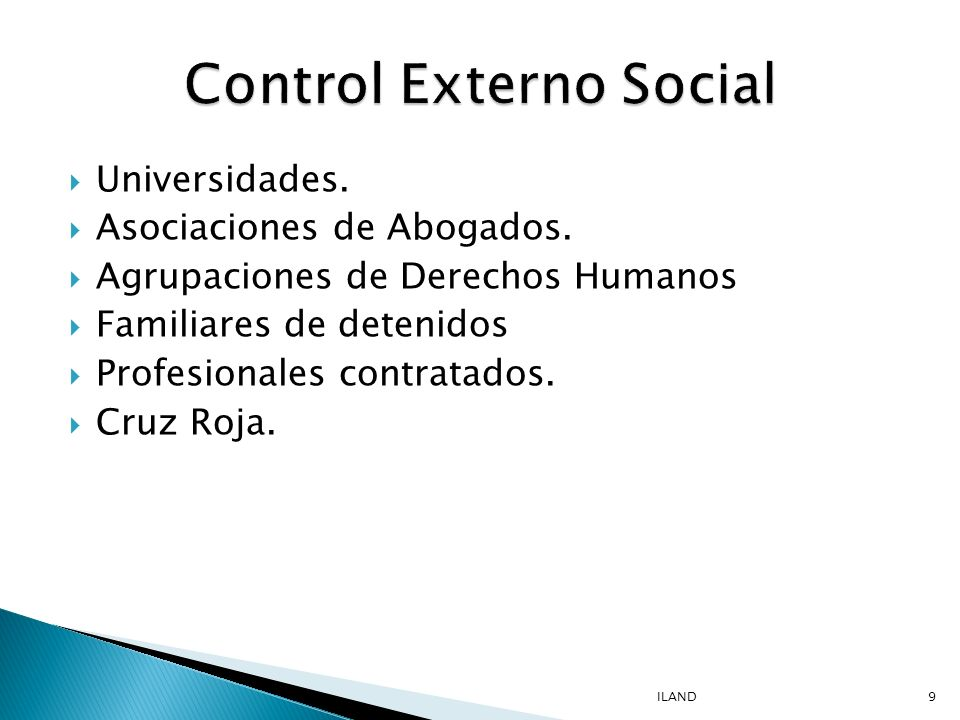 Control Externo Social
