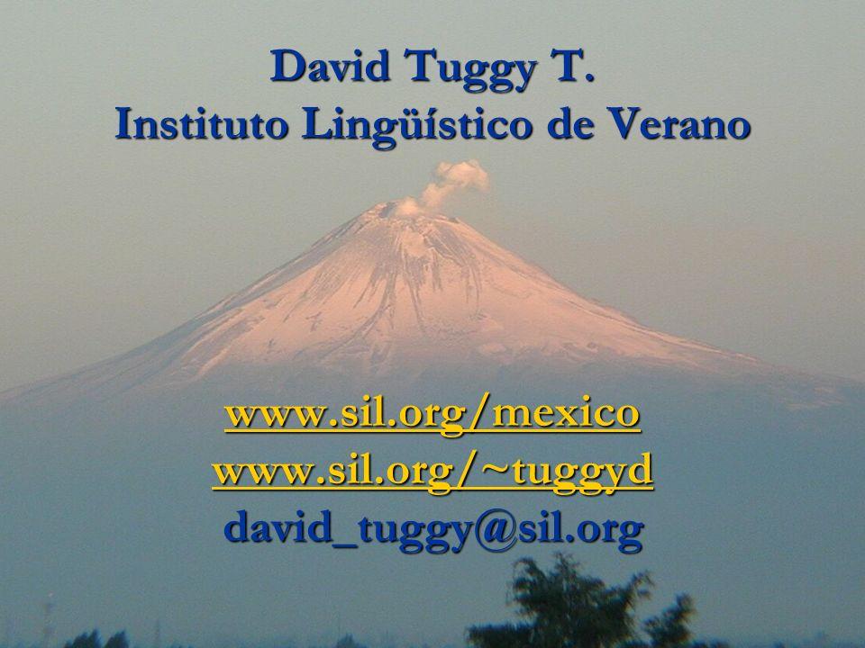 David Tuggy T.