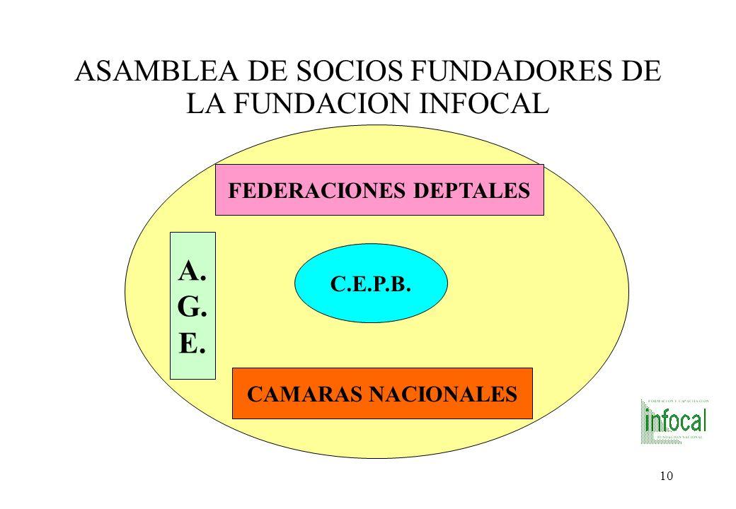 ASAMBLEA DE SOCIOS FUNDADORES DE LA FUNDACION INFOCAL