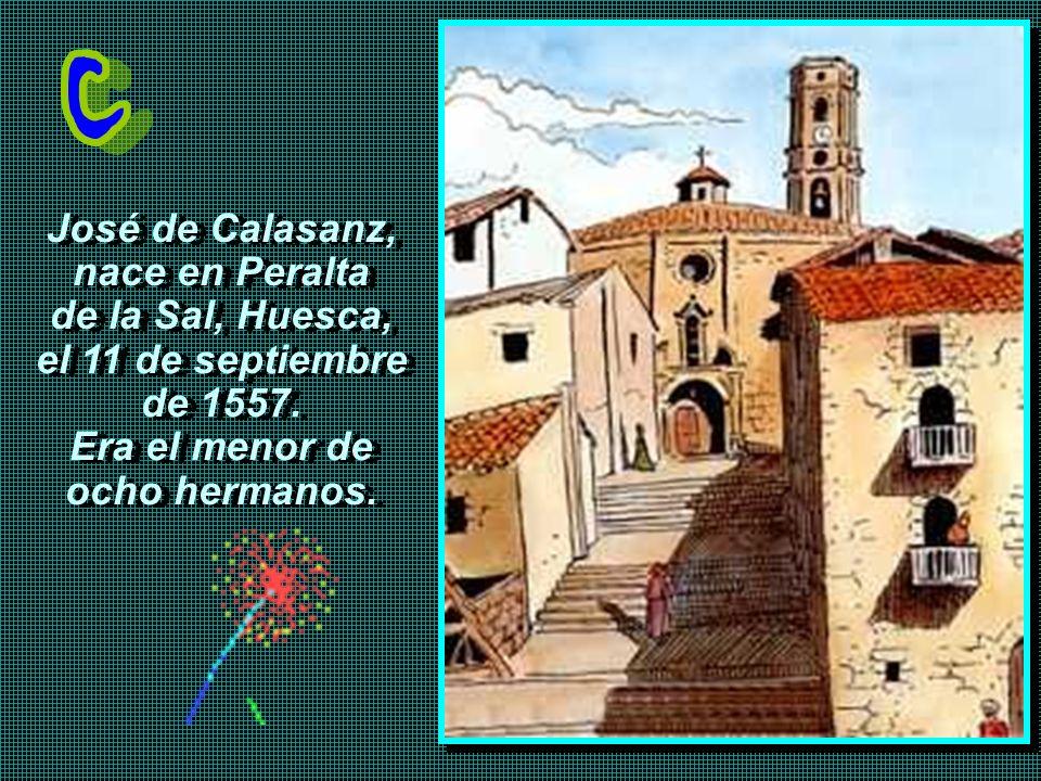 nace en Peralta de la Sal, Huesca, el 11 de septiembre