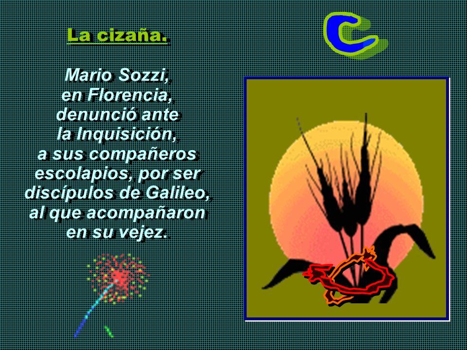 Mario Sozzi, en Florencia, denunció ante la Inquisición,