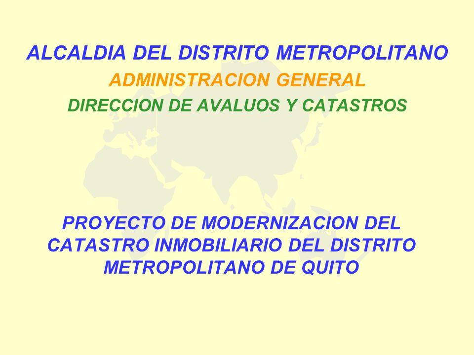 ALCALDIA DEL DISTRITO METROPOLITANO