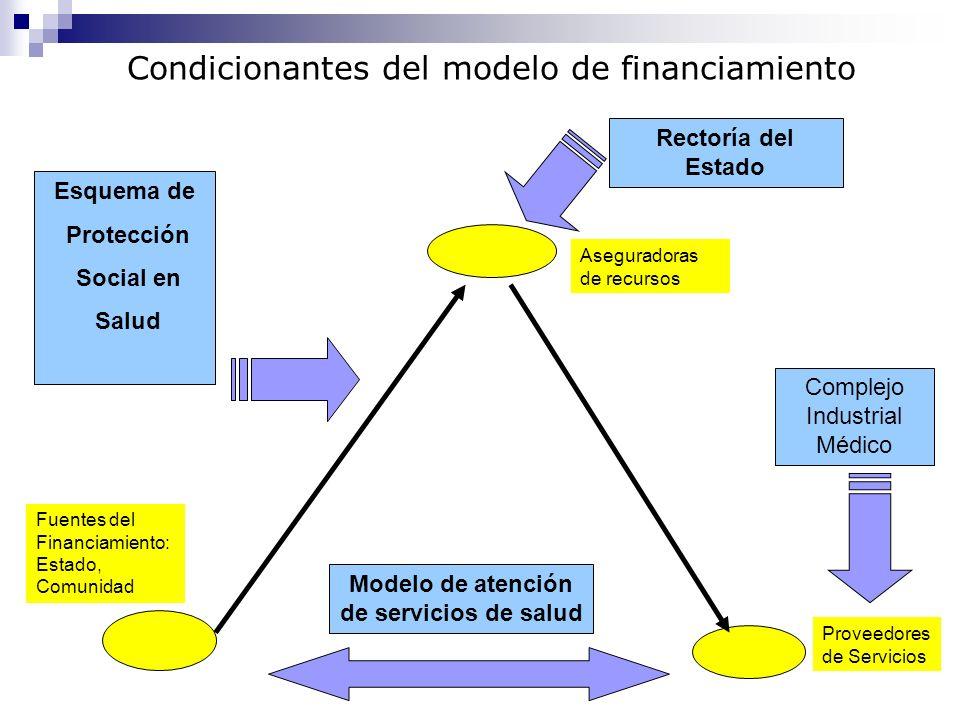 Modelo de atención de servicios de salud