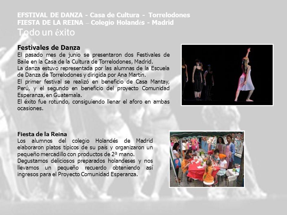 Todo un éxito EFSTIVAL DE DANZA - Casa de Cultura - Torrelodones
