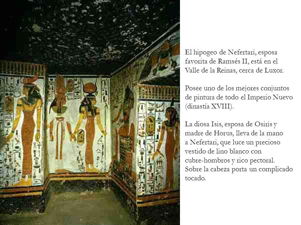 El hipogeo de Nefertari, esposa