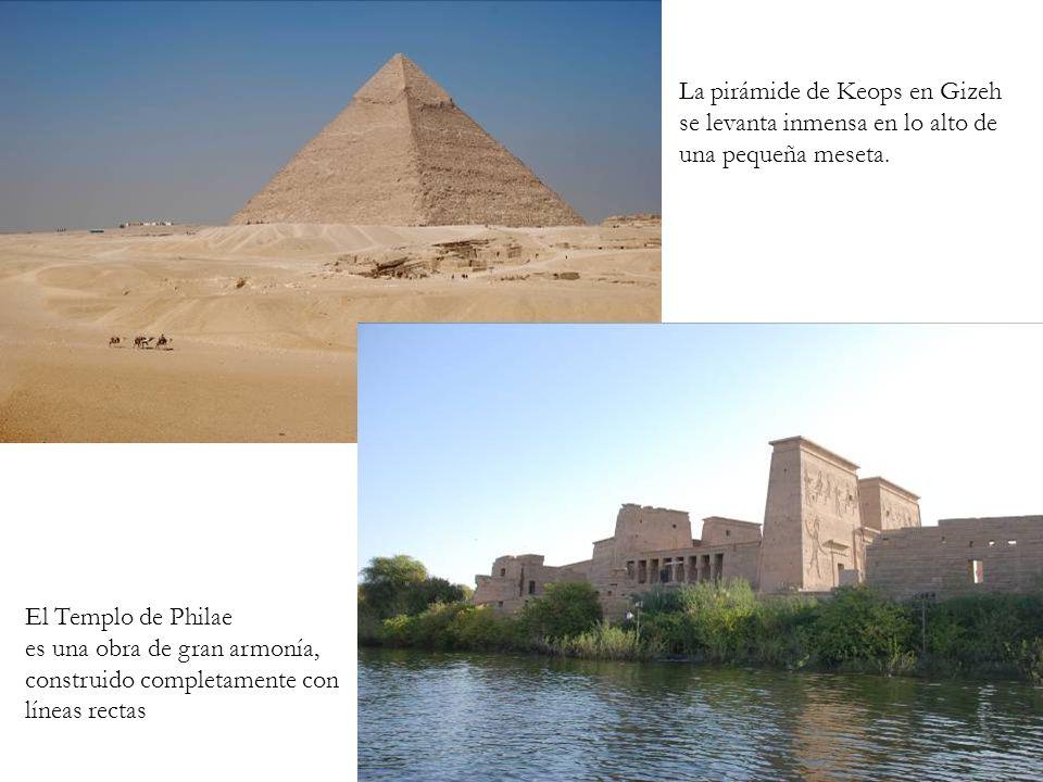 La pirámide de Keops en Gizeh