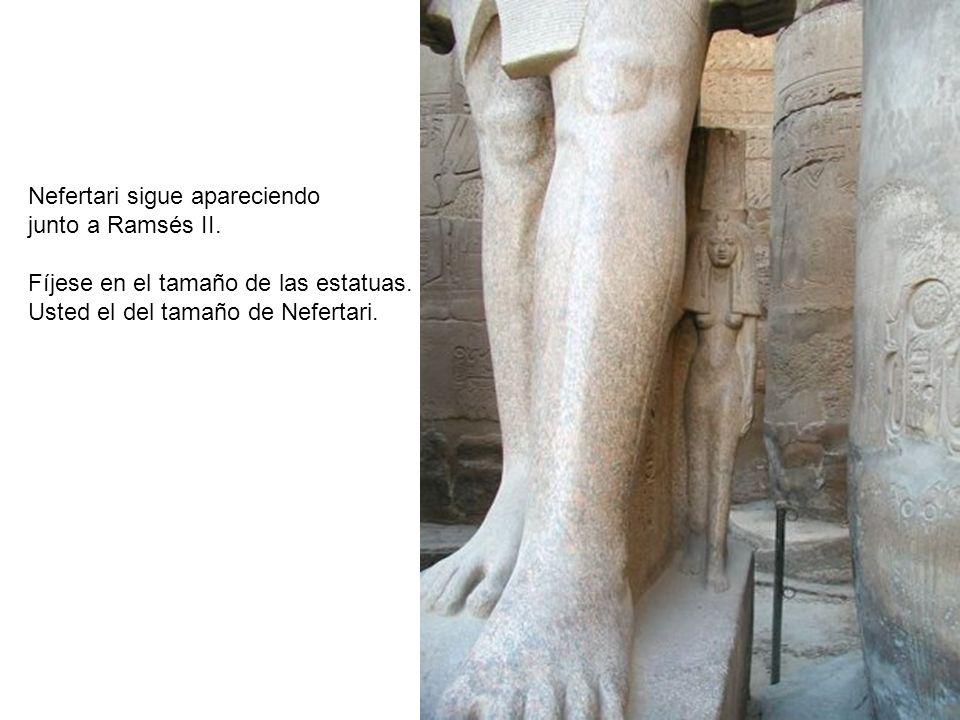 Nefertari sigue apareciendo
