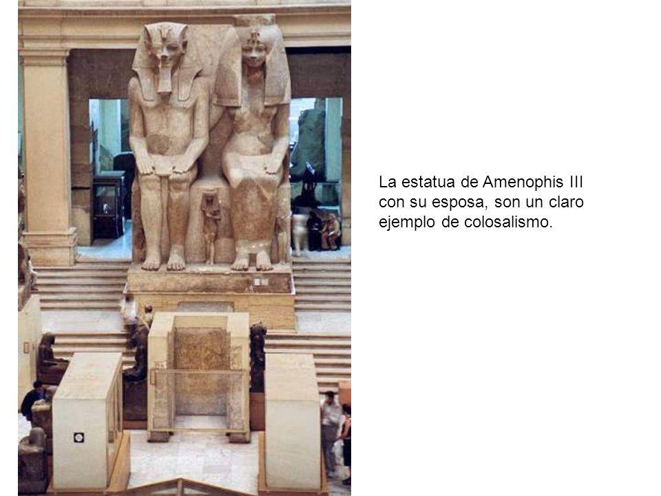 La estatua de Amenophis III