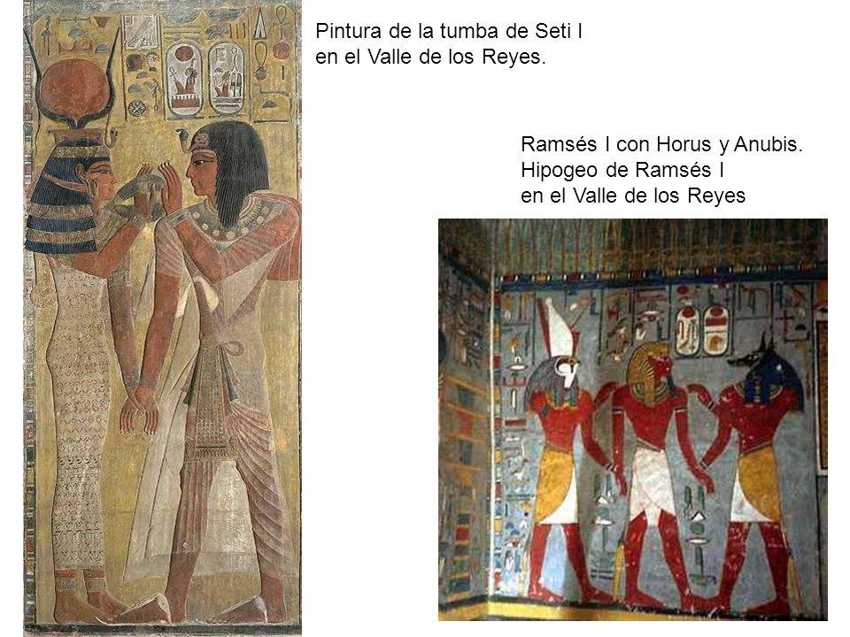 Pintura de la tumba de Seti I