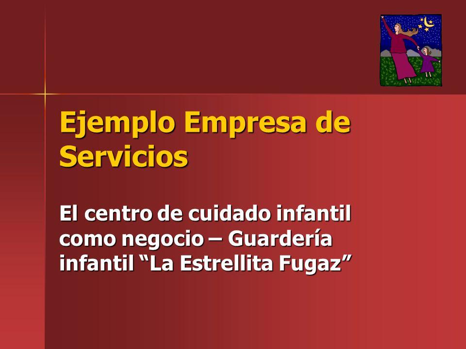 Ejemplo Empresa de Servicios