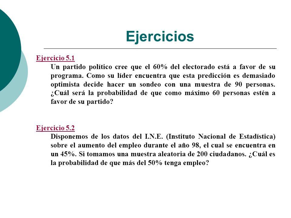 Ejercicios Ejercicio 5.1.