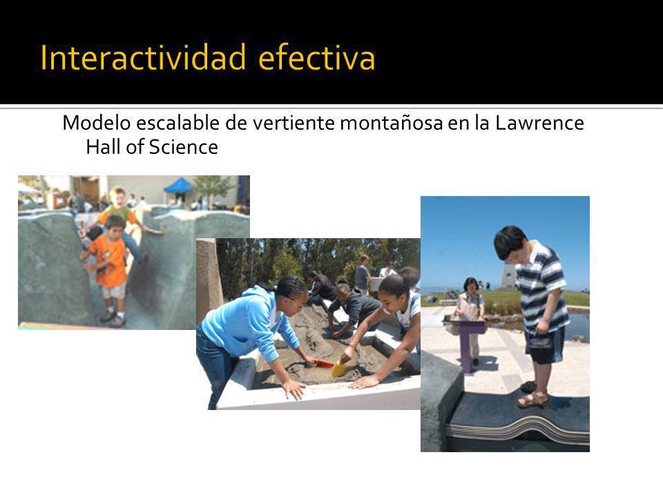 Interactividad efectiva