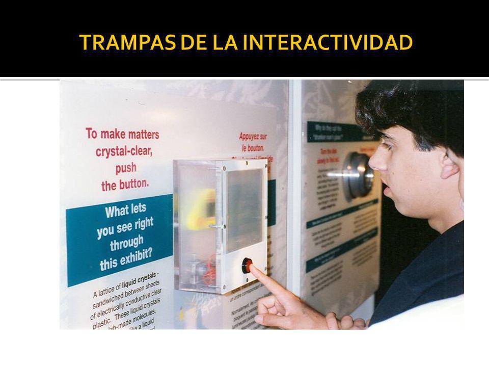 TRAMPAS DE LA INTERACTIVIDAD