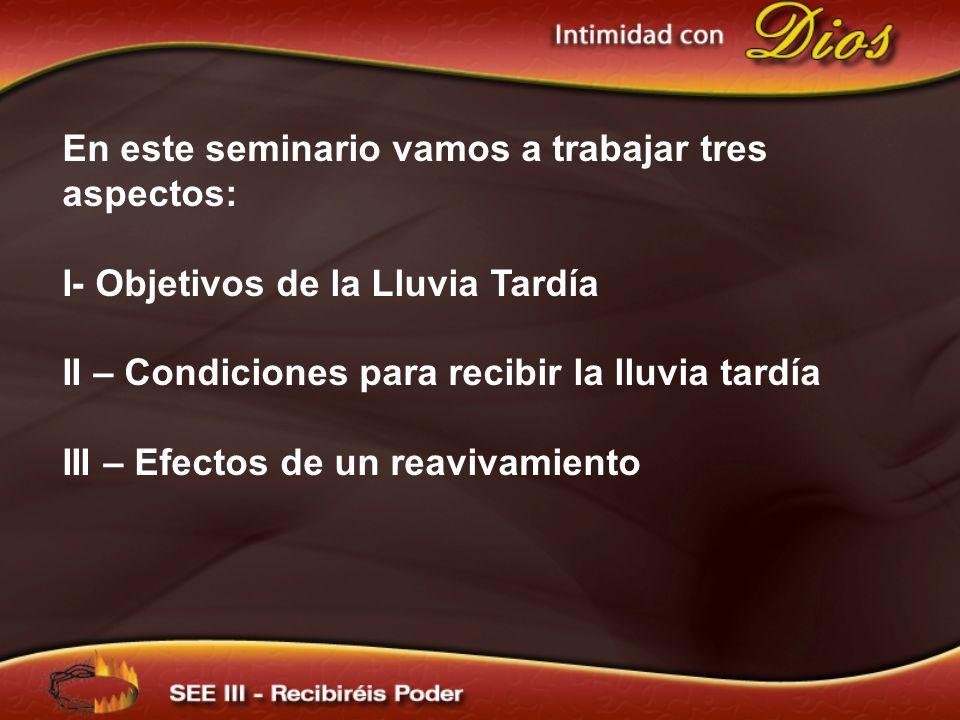 En este seminario vamos a trabajar tres aspectos: