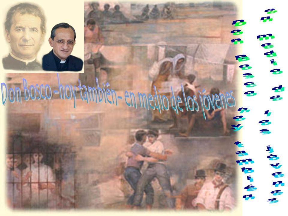 Don Bosco -hoy también- en medio de los jóvenes