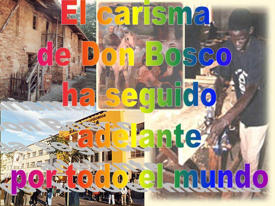 El carisma de Don Bosco ha seguido adelante por todo el mundo