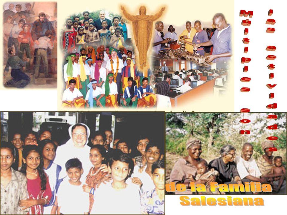 Múltiples son las actividades de la Familia Salesiana