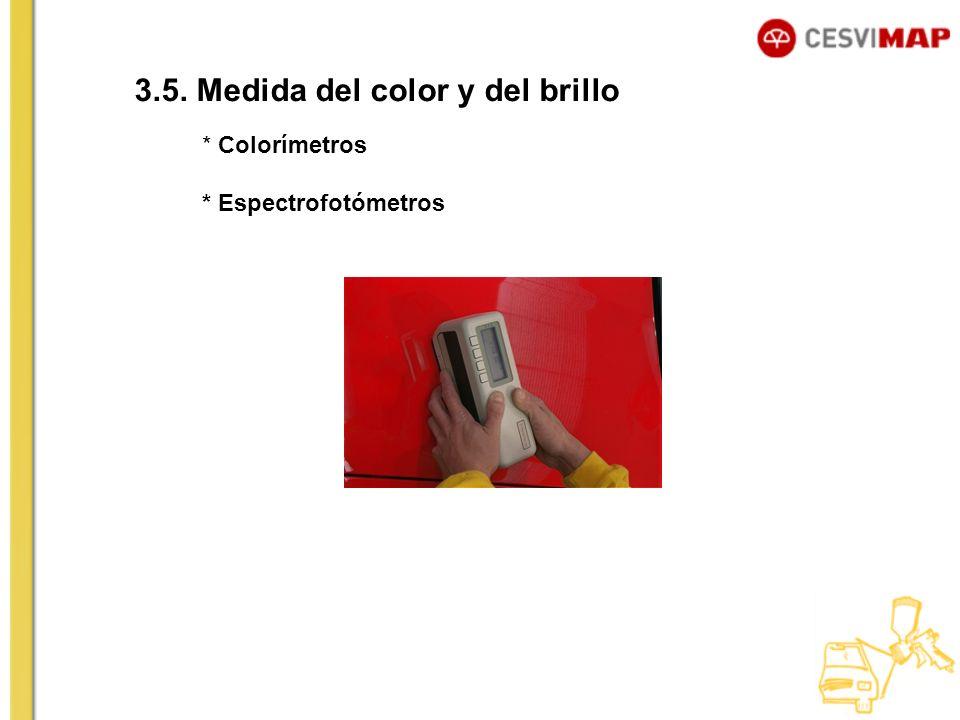3.5. Medida del color y del brillo