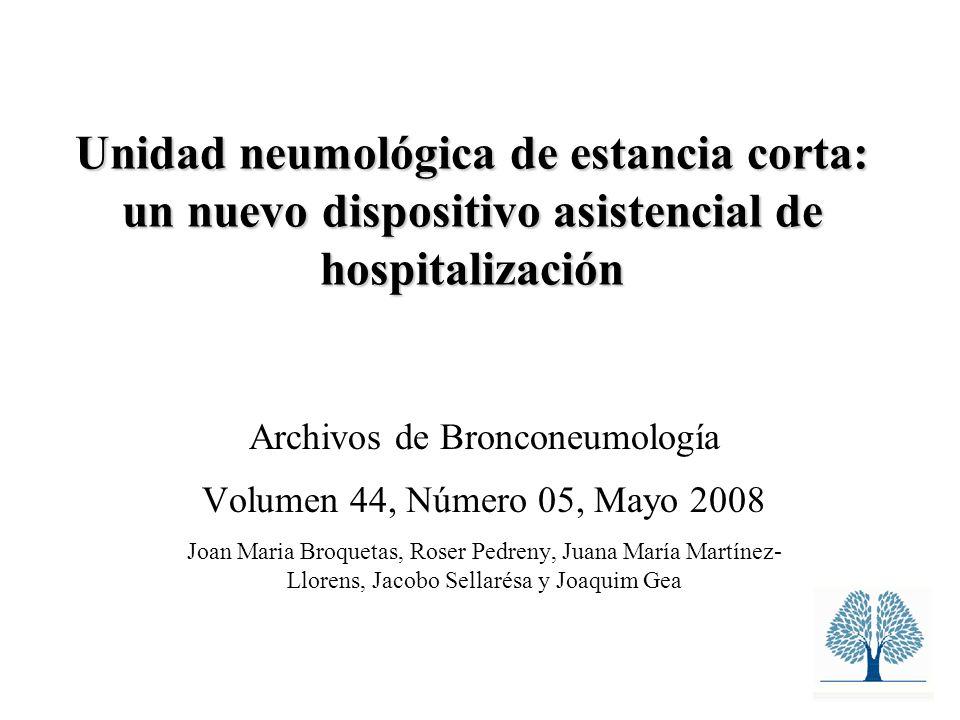 Archivos de Bronconeumología