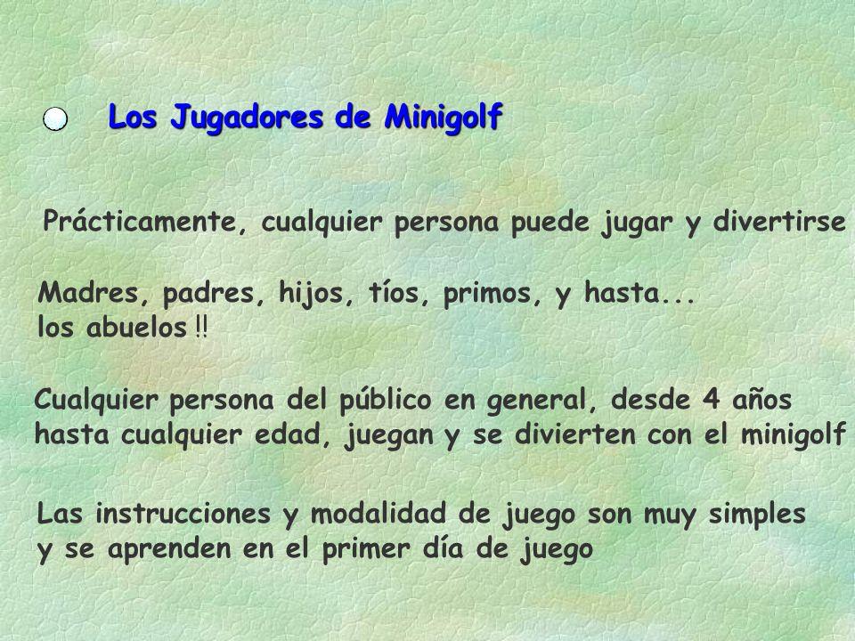 Los Jugadores de Minigolf