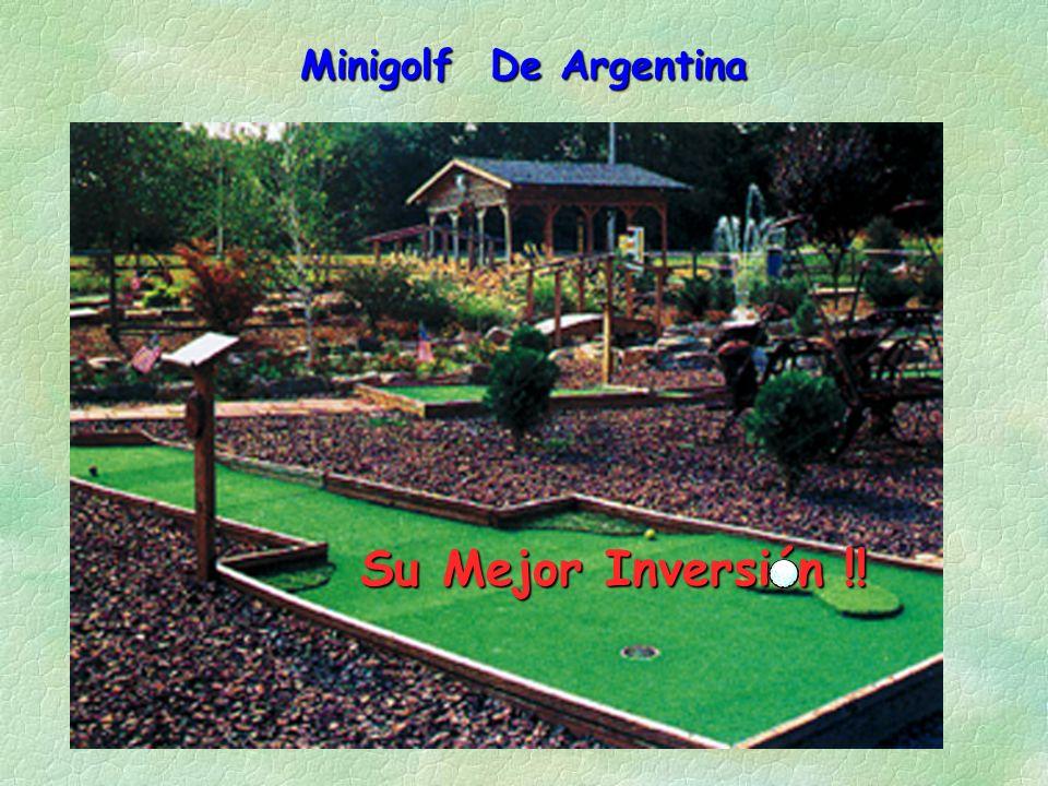 Minigolf De Argentina Su Mejor Inversión !!