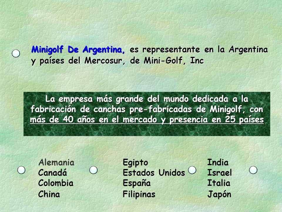 Minigolf De Argentina, es representante en la Argentina