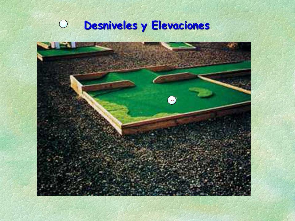 Desniveles y Elevaciones