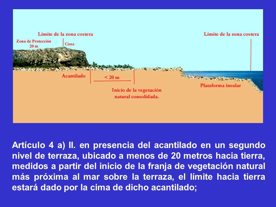 Artículo 4 a) II.