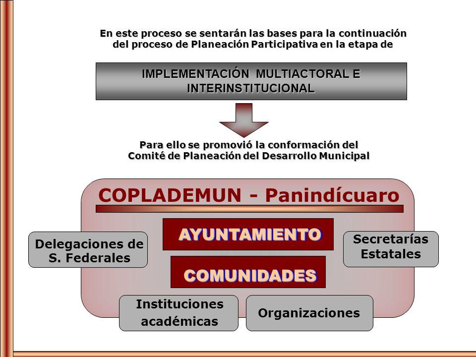 COPLADEMUN - Panindícuaro