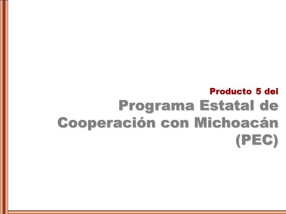 Programa Estatal de Cooperación con Michoacán (PEC)