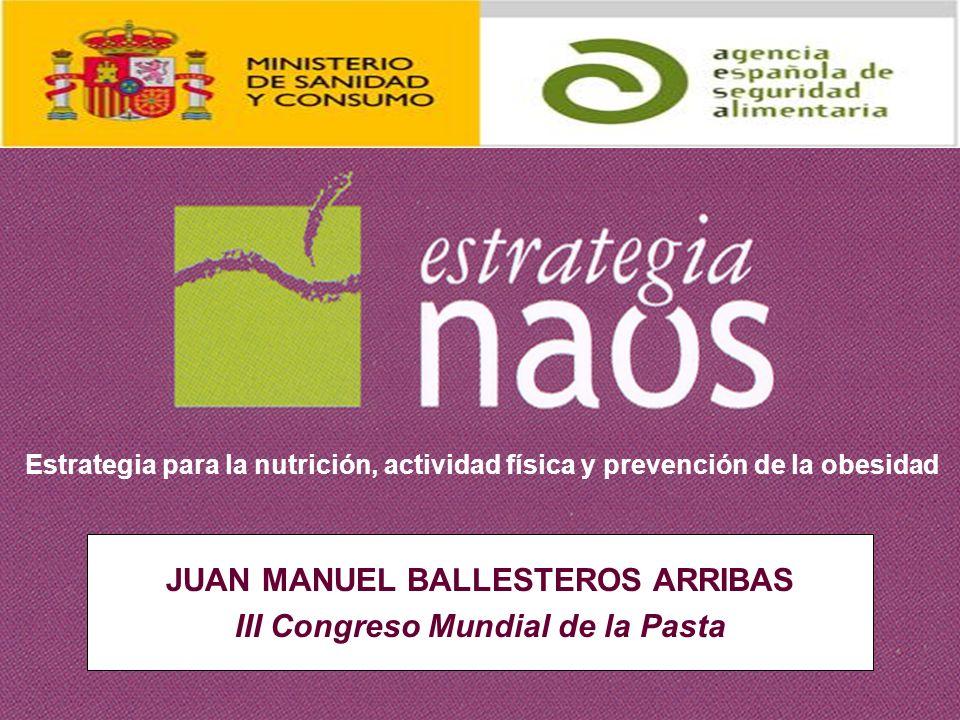 JUAN MANUEL BALLESTEROS ARRIBAS III Congreso Mundial de la Pasta